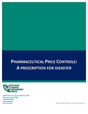 Pharmaceutical Price Controls: A Prescription for Disaster