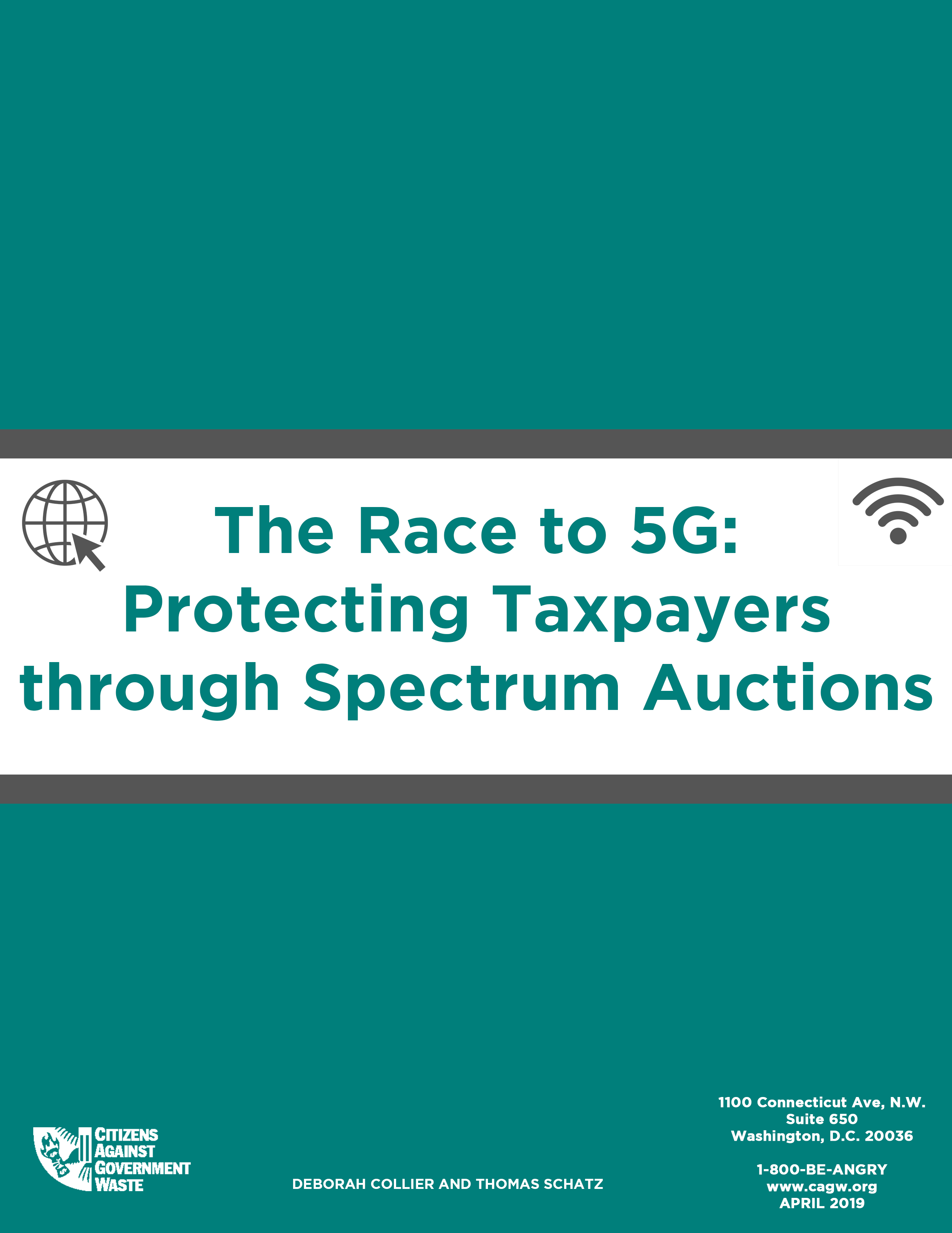 The Race to 5G: Protecting Taxpayers through Spectrum
